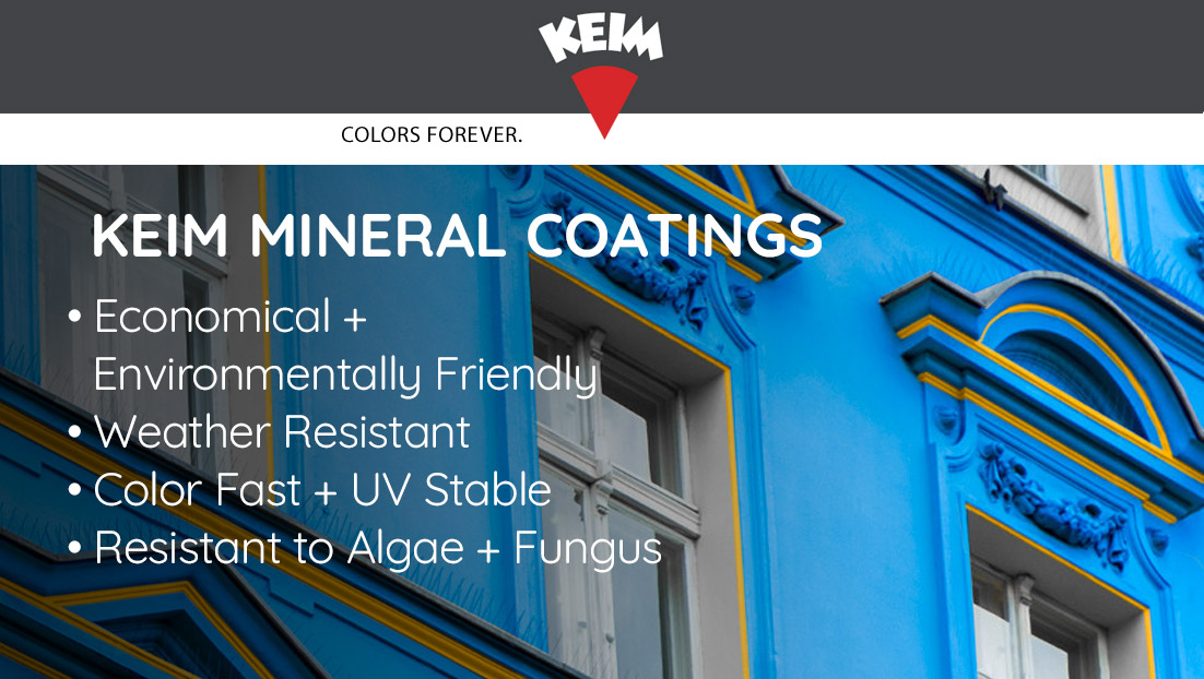 Keim Mineral Paints at Duval Paint and Decorating